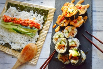 Virtual Interactive Sushi Making Workshop